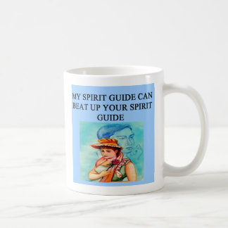 new age spiri guide joke, new age spiri guide joke coffee mug