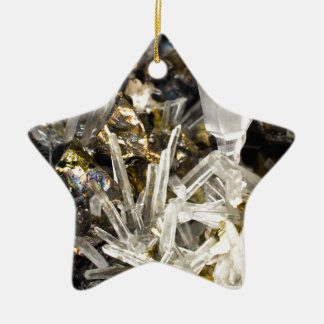 New Age Spiritual Crystal Rock Gemology Christmas Tree Ornaments