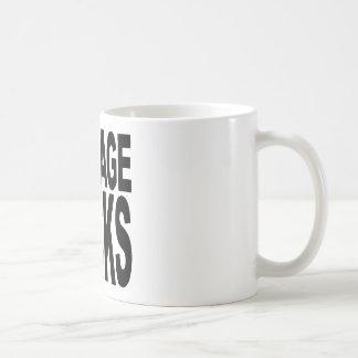 New Age Sucks Basic White Mug