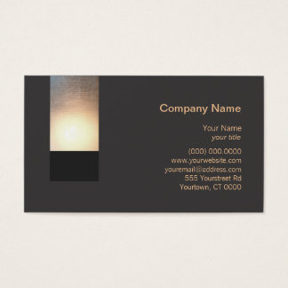 New Age Zen Glow Business Card