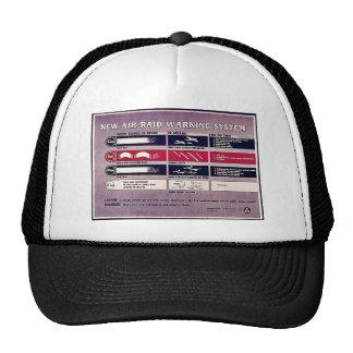 New Air Raid Warning System Hat