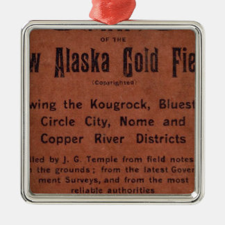 New Alaska gold fields Christmas Ornament