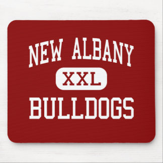 New Albany - Bulldogs - High - New Albany Mouse Mat