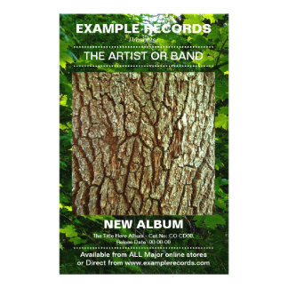 New Album Launch - Photo Textured 14 Cm X 21.5 Cm Flyer