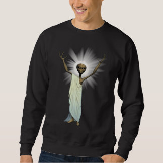 New Alien Jesus Designs Sweatshirt