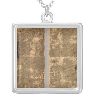 New American atlas Silver Plated Necklace