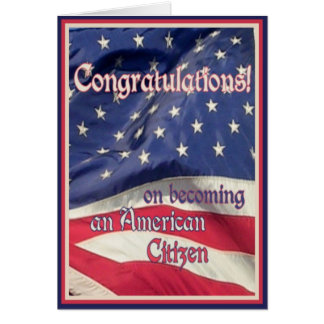 New American Citizen Card