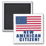 New American Citizen Gifts and Tshirts Magnets