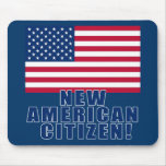 New American Citizen Gifts and Tshirts Mouse Pad