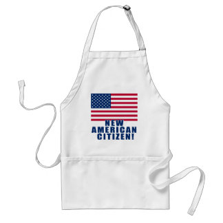 New American Citizen Gifts and Tshirts Standard Apron