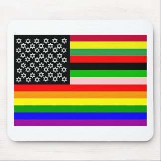 New American Flag Mousepads