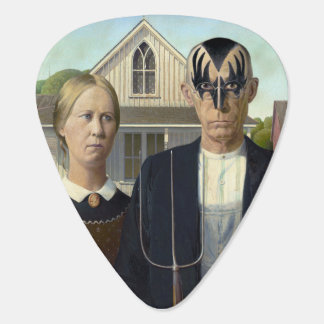New American Gothic Guitar Pick
