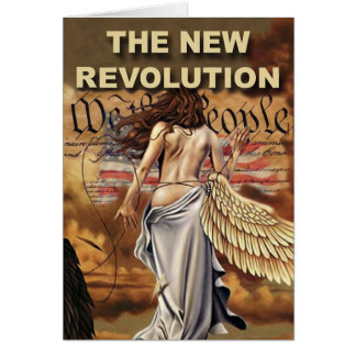 New American Revolution Notecards Note Card
