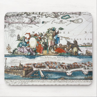 NEW AMSTERDAM, 1673 MOUSE MAT