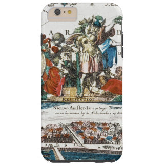 NEW AMSTERDAM, 1673 TOUGH iPhone 6 PLUS CASE