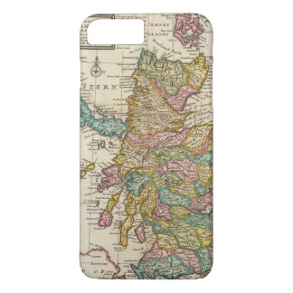 New and correct map of Scotland and the Isles iPhone 7 Plus Case