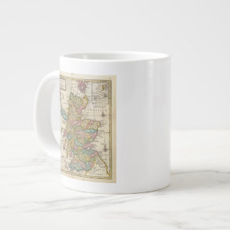 New and correct map of Scotland and the Isles Large Coffee Mug