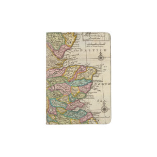 New and correct map of Scotland and the Isles Passport Holder