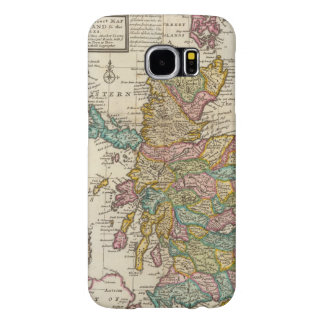 New and correct map of Scotland and the Isles Samsung Galaxy S6 Cases