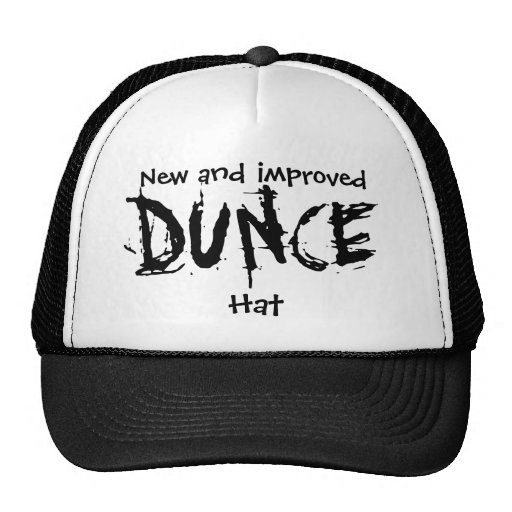 New and improved DUNCE Hat