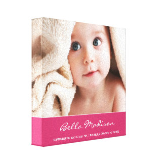 Browse the Baby Canvas Print Collection and personalise by colour, design or style.