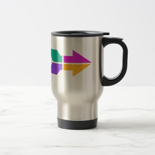 New ARROW : Direction Compass Attitude LOWPRICE Mug