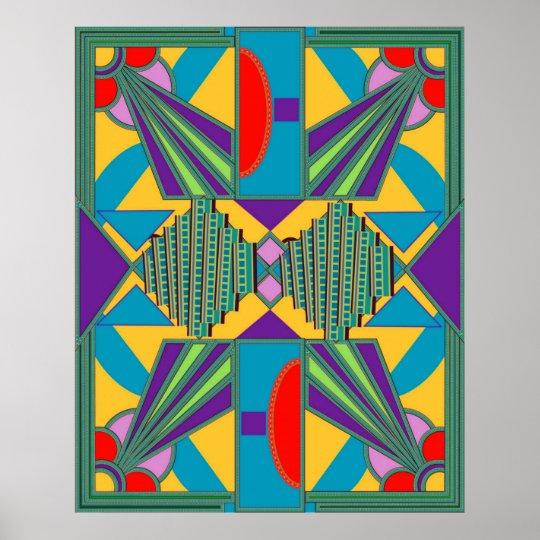 New Art Deco Poster Series 3aP