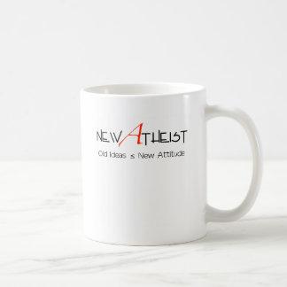New Atheist old ideas new attitude Basic White Mug