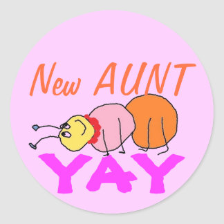 New Aunt Stickers