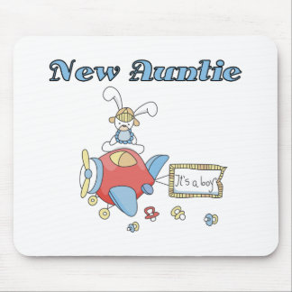 New Auntie of Baby Boy Mouse Pad