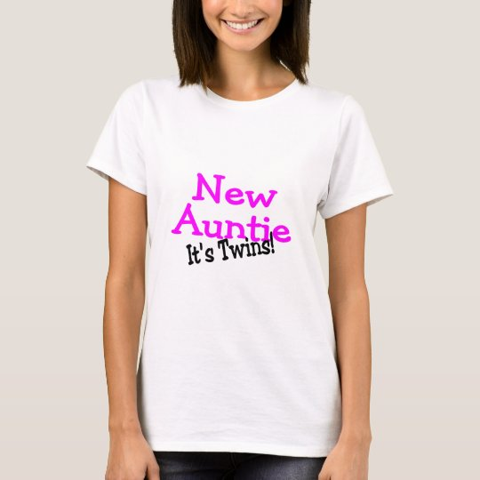 New Auntie Of Twins T-Shirt