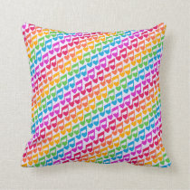New Awesome Rainbow Notes Cushion