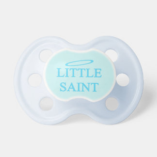 New Baby - a little saint! Dummy