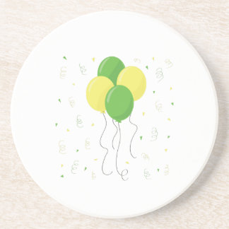 New Baby Balloons Drink Coaster