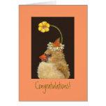 new baby congratulations card