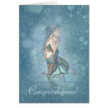 New Baby Congratulations New Mother Mermaid Cards