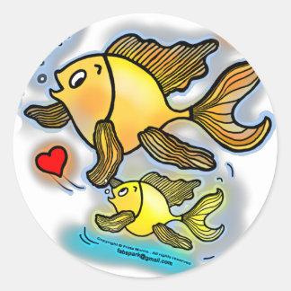 New Baby fish Stickers