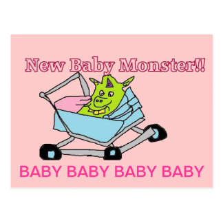 New Baby Monster Postcards