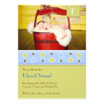 New Baby Photo Flat Card Announcement