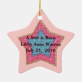 New Baby Star ornament