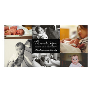 New Baby Thank You Photo Card