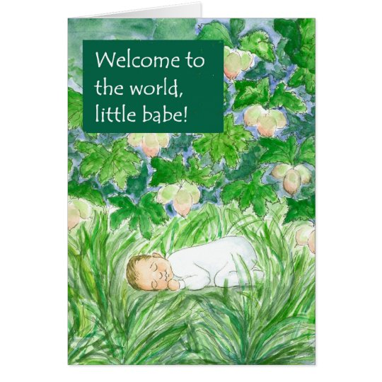 New Baby  Welcome Card