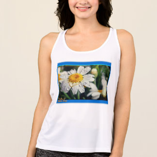 New Balance Work out Tank Top with wet daisy's