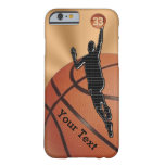 NEW Basketball iPhone 6 Cases with NAME and NUMBER Barely There iPhone 6 Case