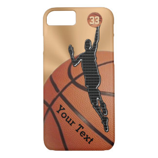 NEW Basketball iPhone 7 Cases with NAME and NUMBER