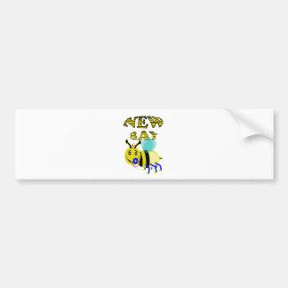 new bay bee bumper sticker