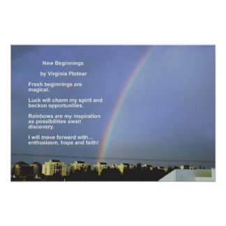 New Beginnings by Virginia Plotner Poster