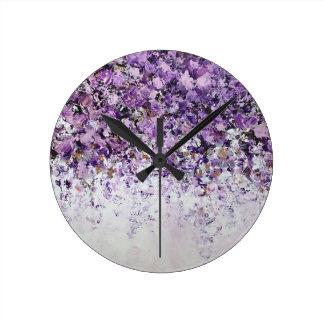 New Beginnings Floral Clock