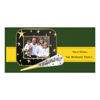 New Beginnings (Green) Customised Photo Card