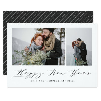NEW BEGINNINGS HAPPY NEW YEAR CARD